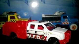 FORD F 550 SUPERDUTY MFD RED MATCHBOX REVIEW