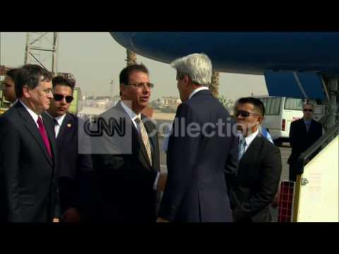 EGYPT:KERRY MAKES UNANNOUNCED CAIRO VISIT SUNDAY