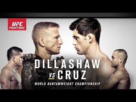 UFC Fight Night Boston Preview: Dillashaw vs. Cruz on Newsmakers