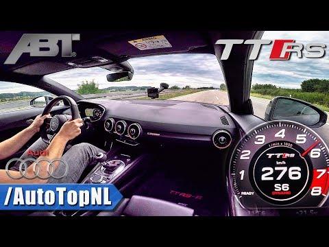 276km/h!! Audi TT RS ABT 500HP AUTOBAHN by AutoTopNL