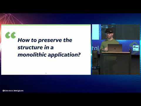 Building Better Monoliths – Implementing Modulithic Applications With Spring  By  Oliver Gierke