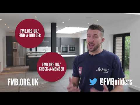 How to avoid cowboy builders - Homeowner advice from the Federation of Master Builders
