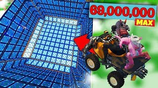 RECORD DU MONDE DANS LES AIRS AVEC LE QUAD A REACTION SUR FORTNITE BATTLE ROYALE !!!
