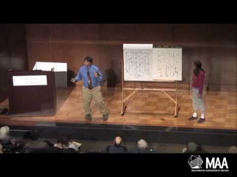 The Magic and Math of Mental Calculation by Art Benjamin