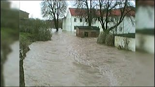 """""""und plötzlich kam die flut""""- hochwasser 1994"""