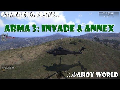 Arma 3 - Ahoy World Invade & Annex - Medic Highlights