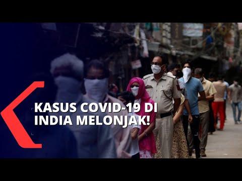 Kasus Melonjak! India Laporkan Lebih dari 200 Ribu Orang Positif Covid-19 dalam 24 Jam