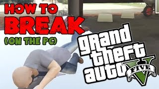 GTA 5 I Broke The Game On The PC