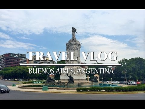 Travel Vlog: Buenos Aires, Argentina