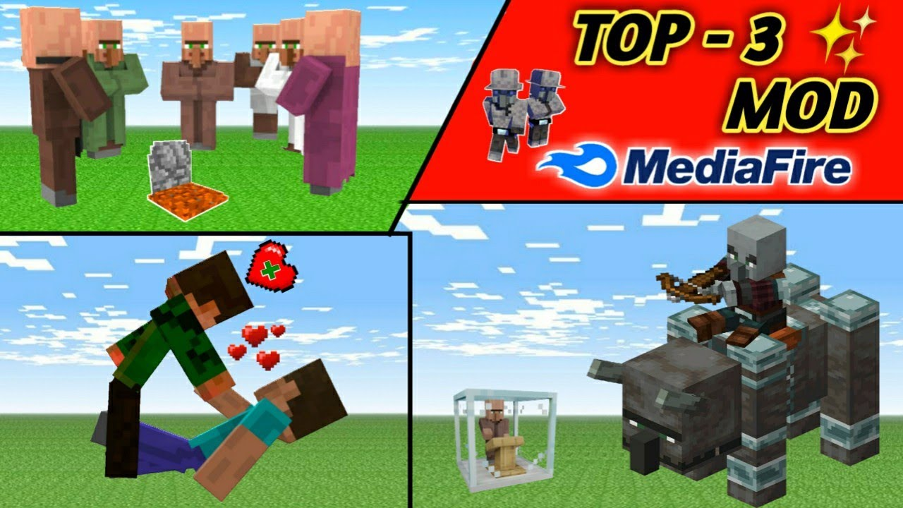 Download How to Download Top 3 [EPIC] Mod In Minecraft PE ! MEDIAFIRE !【UNIVERSE GAMER】