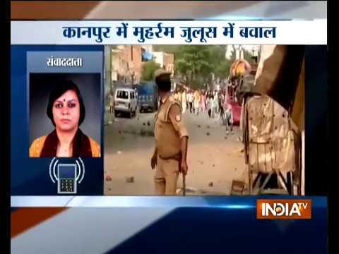 Muharram: Violence in Kanpur over Tazia procession route