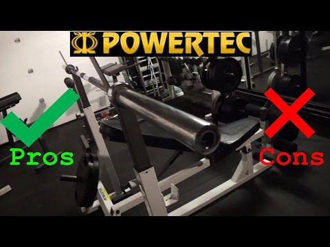 Powertec Equipment Bench Press Review, The Good And The Bad