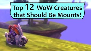 Top 12 Things that Should be Mounts in WoW!