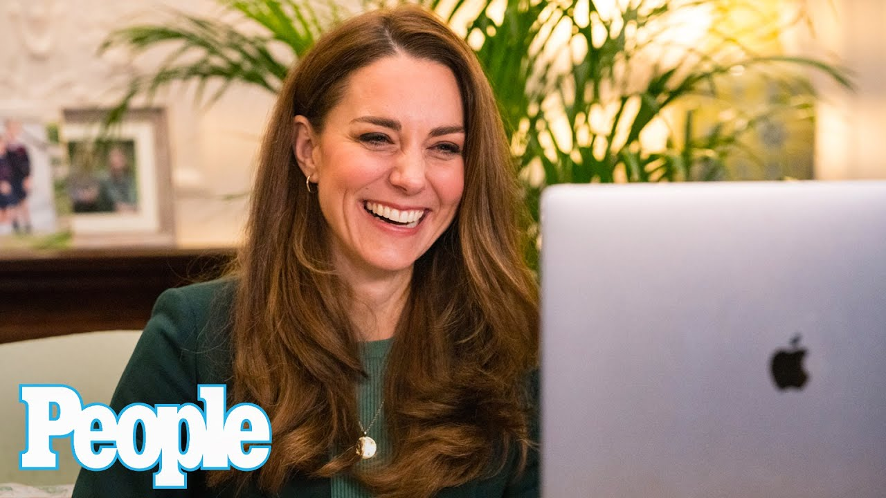Kate Middleton Gives a One-Word Description of Homeschooling in Zoom Call with Parents   People
