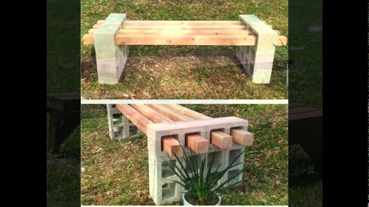 Как сделать простейшую скамейку фото 98
