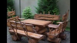 Фото:Как сделать простую скамейку,лавочку в беседку.