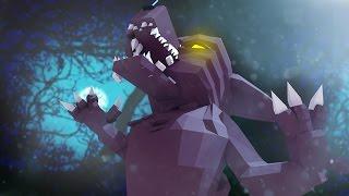 Minecraft | Murder Maze Challenge - KILLER WEREWOLF ATTACKS! (Werewolves Mod)