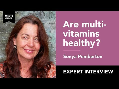 Sonya Pemberton - The Truth About Vitamins