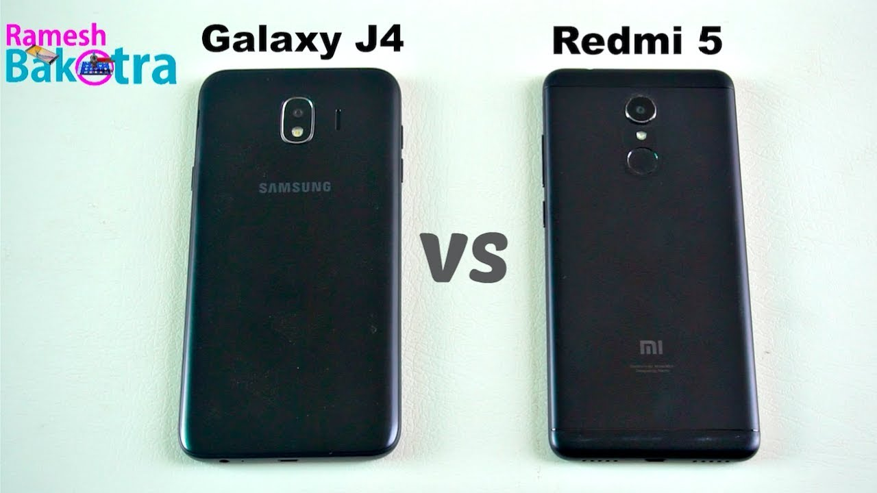 Promo Harga Samsung Galaxy J4 Vs Redmi 5 Speed Test And Camera
