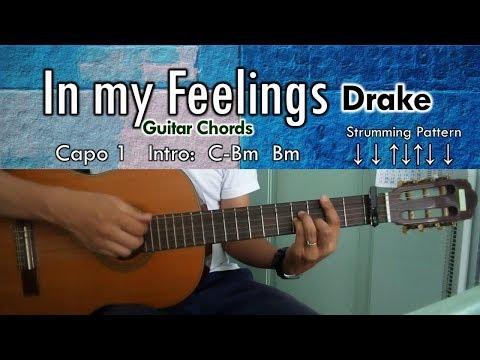 In my Feelings - Drake Guitar Chords