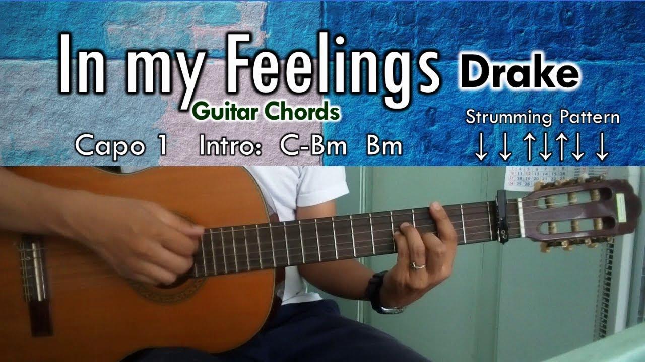 In My Feelings Drake Guitar Chords Youtube