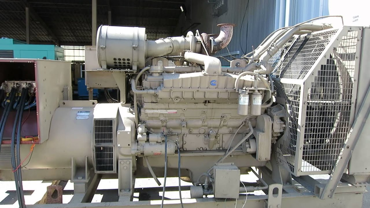 Used Cummins 600 kW standby sel generator set Stock