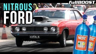Can you tell when the nitrous hits? | Angry FORD! | fullBOOST