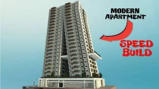 Minecraft Modern Apartment: SPEED BUILD