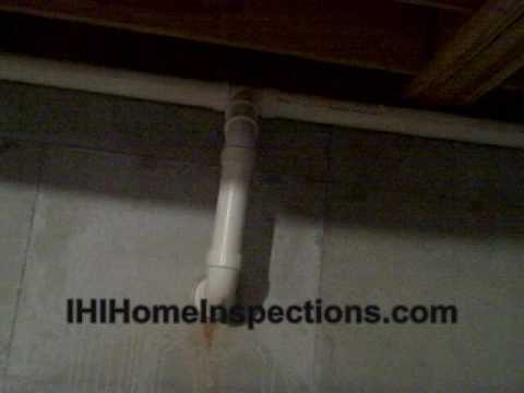 A Well Done Radon Mitigation system presented by the Atlanta Home Inspector