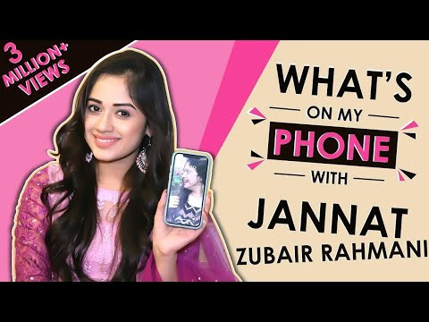 Jannat Zubair Rahmani: What's On My Phone With India Forums | Phone Secrets Revealed