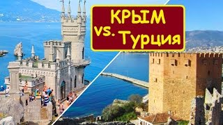 Крым, часть турпотока уходит в Турцию