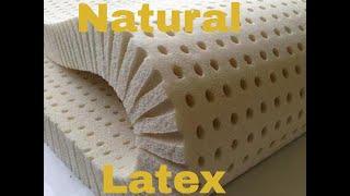 Natural Latex matress topper and pillow review REM Sleep