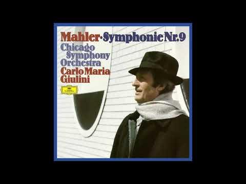 Mahler Symphonie Nr.9 Chicago Symphony Orchestra Carlo Maria Giulini (1977/2019)