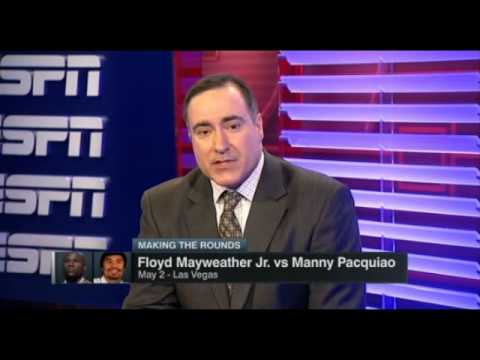 ESPN Making The Round   Manny Pacquiao Vs Floyd Maweather Talks   ESPN Sports   ESPN Boxing
