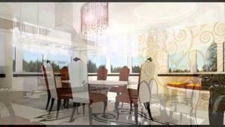 Дизайн-проект коттеджа, Нео-Классика(Дизайн-проект дома, общей площадью 600кв.м. выполнен в стиле