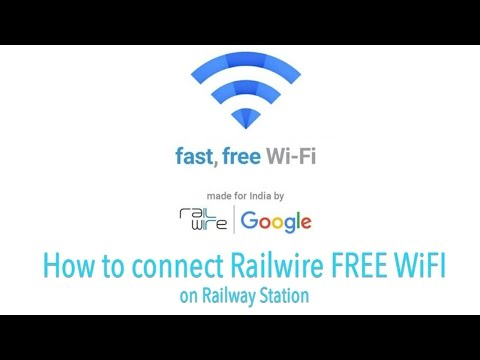 How to connect RailWire Free WiFi on Railway Station | Google | Techtalk Assam