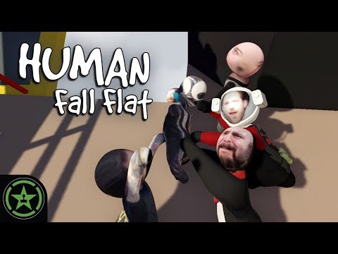 Let's Play - Human Fall Flat: Learning to Climb