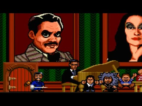 The Addams Family (SNES) Playthrough - NintendoComplete
