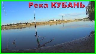 Рыбалка на реке КУБАНЬ. Ловля на донку и поплавочную удочку. Fishing angeln la pesca câu cá рыбалка