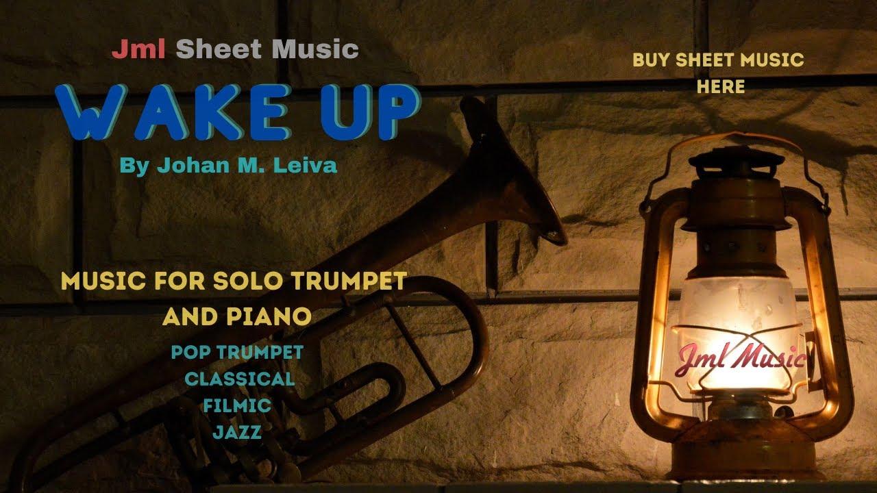 RECORDING - solo trumpet and piano - jml music