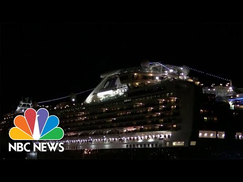 Americans Evacuated From Quarantined Cruise Ship Off Japan | NBC Nightly News