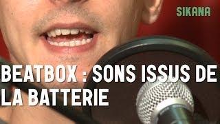 Cours de beatbox : Les différents sons issus de la batterie - HD