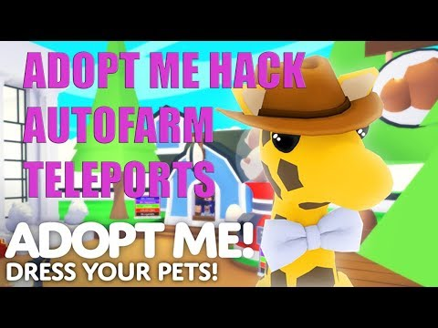 ROBLOX HACK FOR ADOPT ME ! SCRIPT EXPLOIT ! AUTO FARM ! FREE FOOD ! TELEPORTS ! ALL PETS