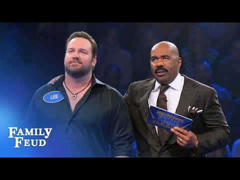 Lee Brice's Fantastic Fast Money! | Celebrity Family Feud