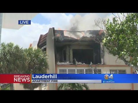 Several People Injured In Lauderhill Apartment Fire