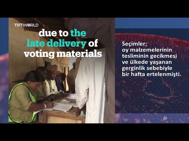Nijerya'da kanlı seçim: 39 ölü