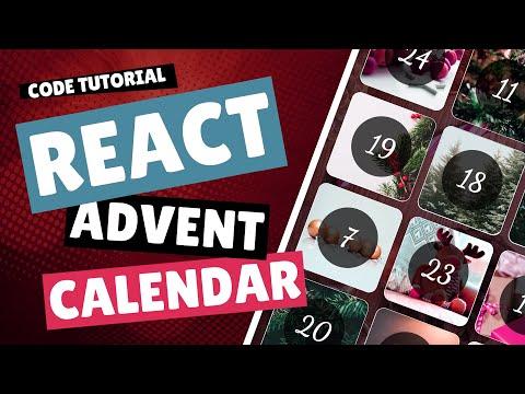 Code Tutorial - React Advent Calendar thumbnail