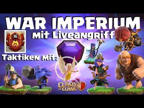 [474] Top Clan: WAR IMPERIUM | Miner, Bowler, Hexen, Riesen, Heiler Clash of Clans Deutsch COC