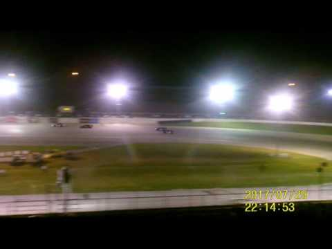 Lebanon I 44 Speedway Late Model feature  7 29 17