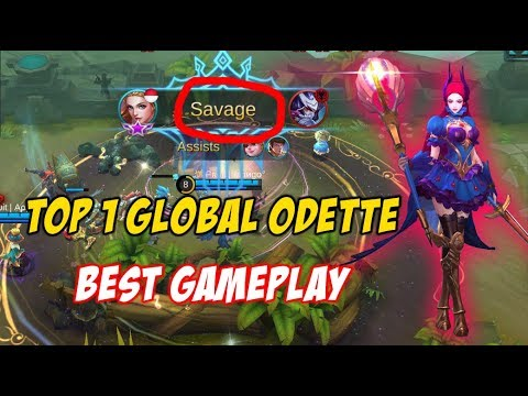 Top 1 Global Odette Pro Player Musuh Angkat Tangan Ngadepin Odette Rank 1 di Dunia - SAVAGE